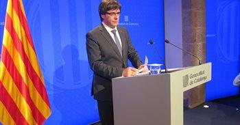 Puigdemont volverá a ofrecer diálogo a Rajoy pero sin renunciar a la independencia
