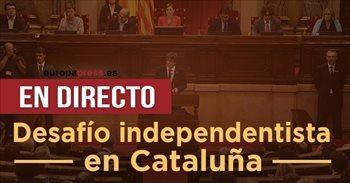 Independencia Cataluña, última hora | ANC y Òmnium llaman a retirar efectivo este viernes en los principales bancos