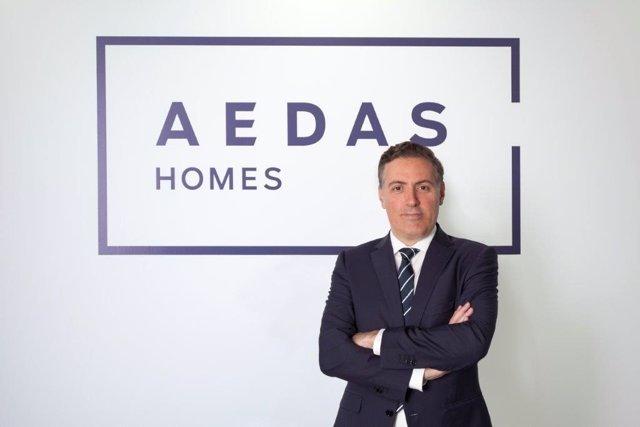 Consejero delegadode Aedas Homes, David Martínez