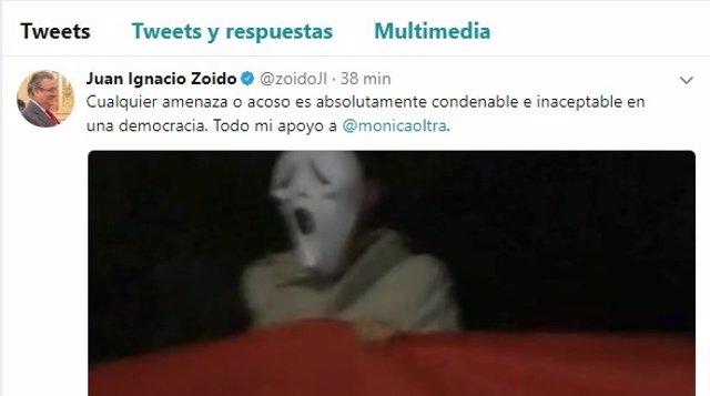 Twitter de Juan Ignacio Zoido