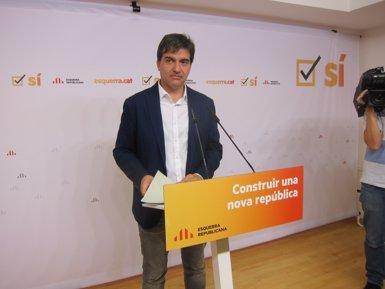 """ERC diu que la independència la va declarar la gent amb els seus vots i ara cal fer-la """"efectiva"""" (EUROPA PRESS)"""