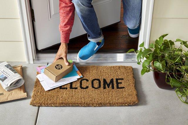 HP te entrega tu pedido de tinta en tu casa