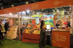Perú presenta la marca 'Superfoods' por primera vez en la novena edición de Fruit Attraction