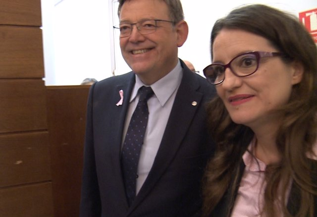 Ximo Puig i Mónica Oltra