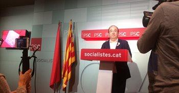 """Iceta cree que Puigdemont reconoce que no hubo DUI pero lamenta su """"amenaza"""""""