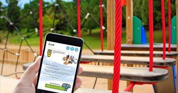 El Aeropuerto de Palma estrena cuatro parques infantiles interactivos