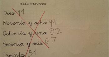 El ejercicio de mates de un niño de 7 años que genera discordia entre los adultos