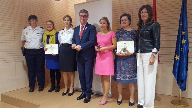 Entrega de premios buenas practicas educativas en privavidad AEPD