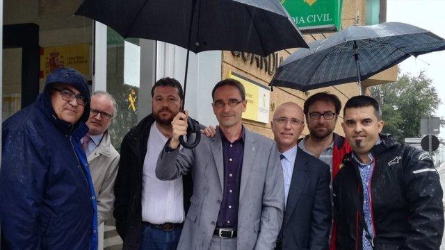 Alcalde de Dosrius Marc Bosch y edil Eduard Garcia declaran ante Guardia Civil