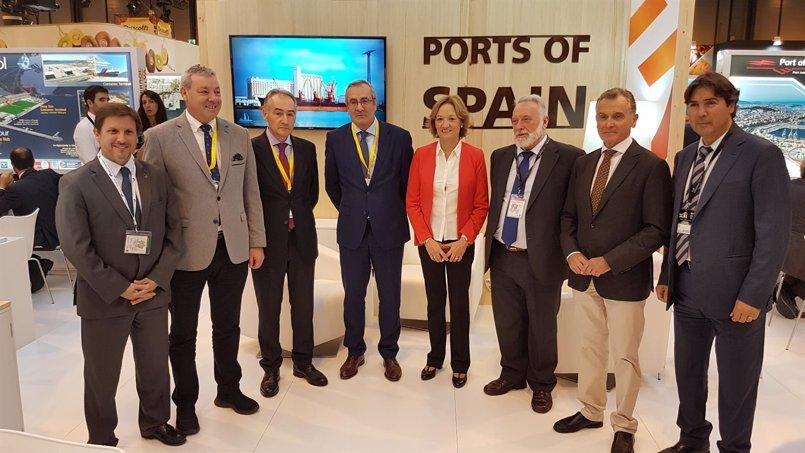 Los puertos de Andalucía movieron 4,2 millones de toneladas de productos hortofrutícolas en 2016