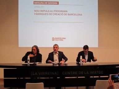 Barcelona proposa ampliar les Fàbriques de Creació amb projectes privats i una xarxa metropolitana (EUROPA PRESS)