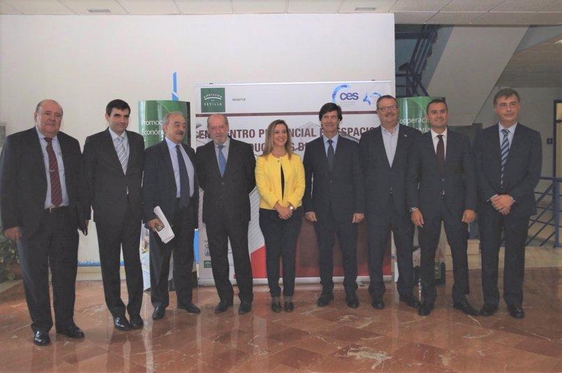 """La Diputación y la CES crean un """"encuentro provincial"""" de parques empresariales"""
