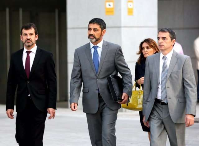 Trapero acudeix a declarar l'Audiència Nacional