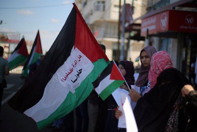 Celebraciones de la reconciliación en la Franja de Gaza