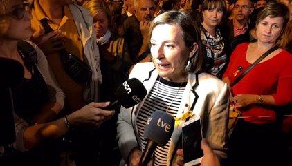 """Forcadell reclama la intervención de la UE: """"Europa ya no puede mirar hacia otro lado"""""""