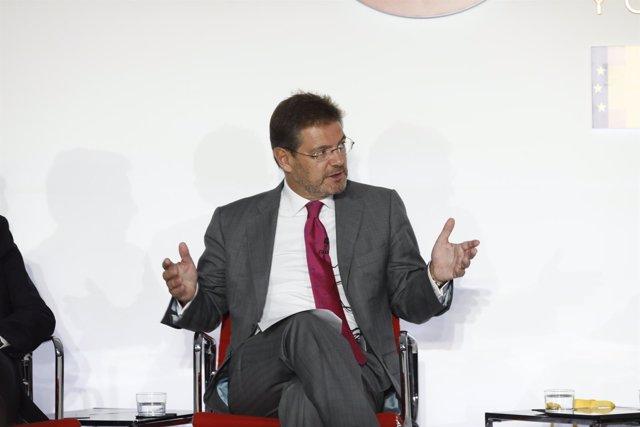 Rafael Catalá en la Cumbre Española de la Confianza