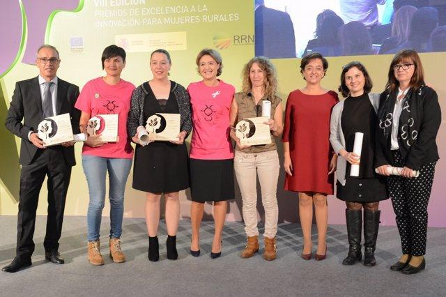 García Tejerina en Premios de Excelencia a la Innovación para Mujeres Rurales