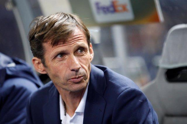 José Ángel Ziganda, entrenador del Athletic Club