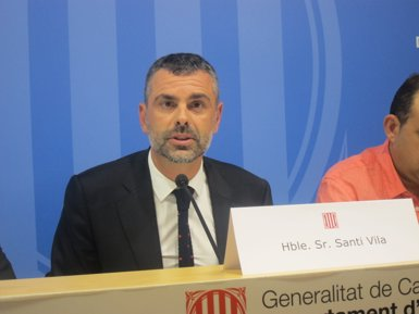 Santi Vila rebutja l'acció de retirar diners dels caixers per tensionar els bancs (Europa Press)