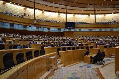 El Senat celebrarà el divendres 27 el ple en el qual aprovarà l'aplicació del 155 (TWITTER SENADO)