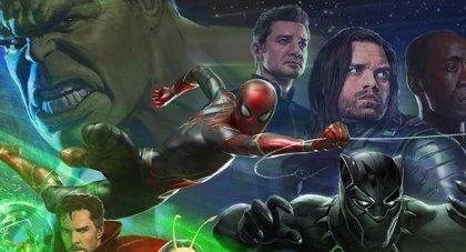 Revelado el nuevo logo de Vengadores: Infinity War