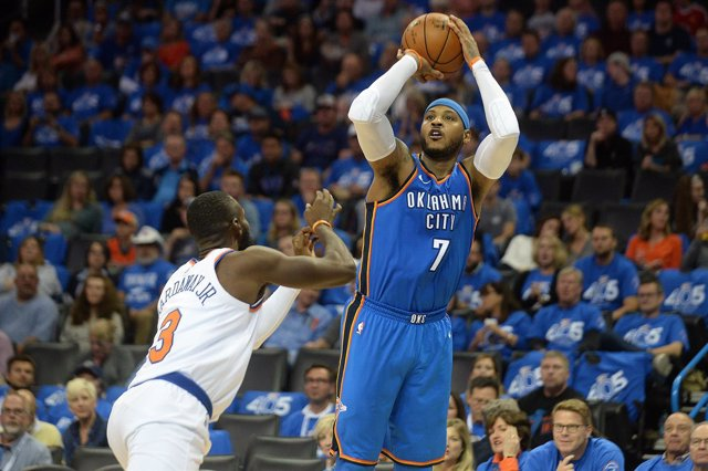 Carmelo Anthony (Oklahoma City Thunder)