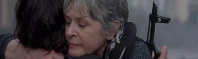 The Walking Dead 8x01: Daryl se despide de Carol, Tara y Morgan en el nuevo vídeo (AMC)