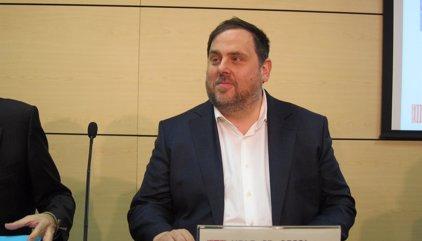 """Junqueras rechaza elecciones anticipadas y pide la independencia """"lo antes posible"""""""