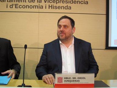 """Junqueras rebutja eleccions anticipades i demana la independència """"com més aviat millor"""" (EUROPA PRESS)"""