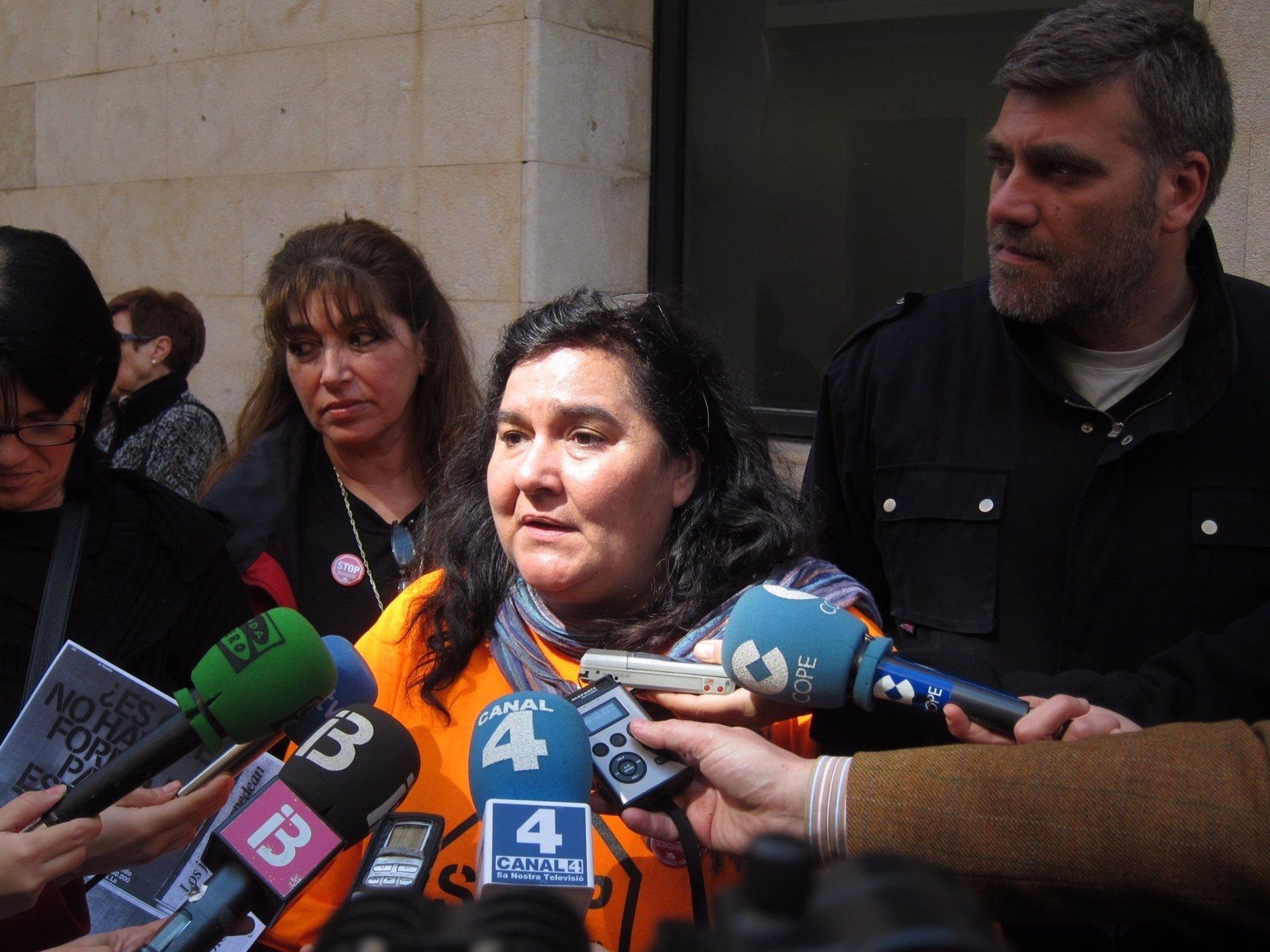 La PAH alerta del desahucio de una familia con cuatro hijos en Palma