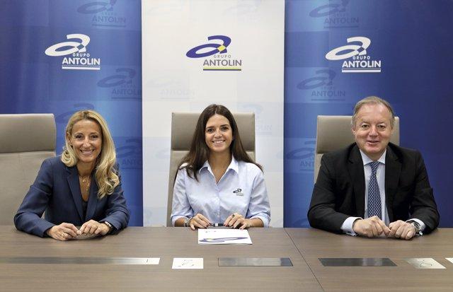 Acuerdo de patrocinio con Cristina Gutiérrez