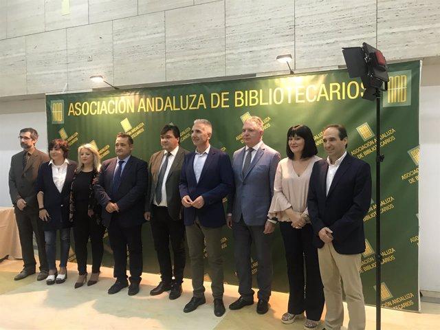 Vázquez inaugura en Huelva las Jornadas Bibliotecarias de Andalucía
