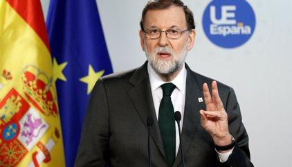 Rajoy confirma acuerdo con el PSOE sobre el 155 pero precisa que no está determinado un límite temporal en su aplicación