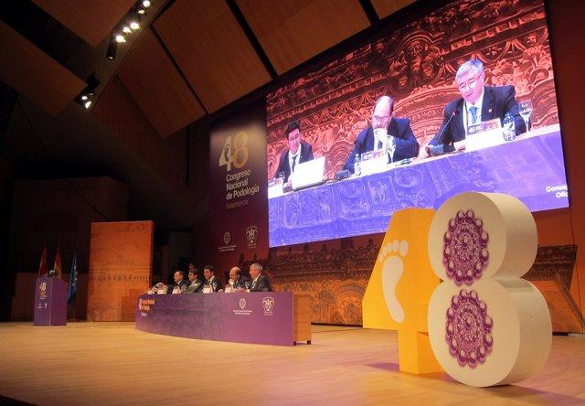 . Acto Inaugural Del Congreso De Podólogos En Salamanca