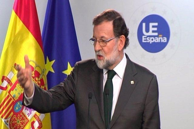 Rajoy confirma acord amb el PSOE sobre el 155