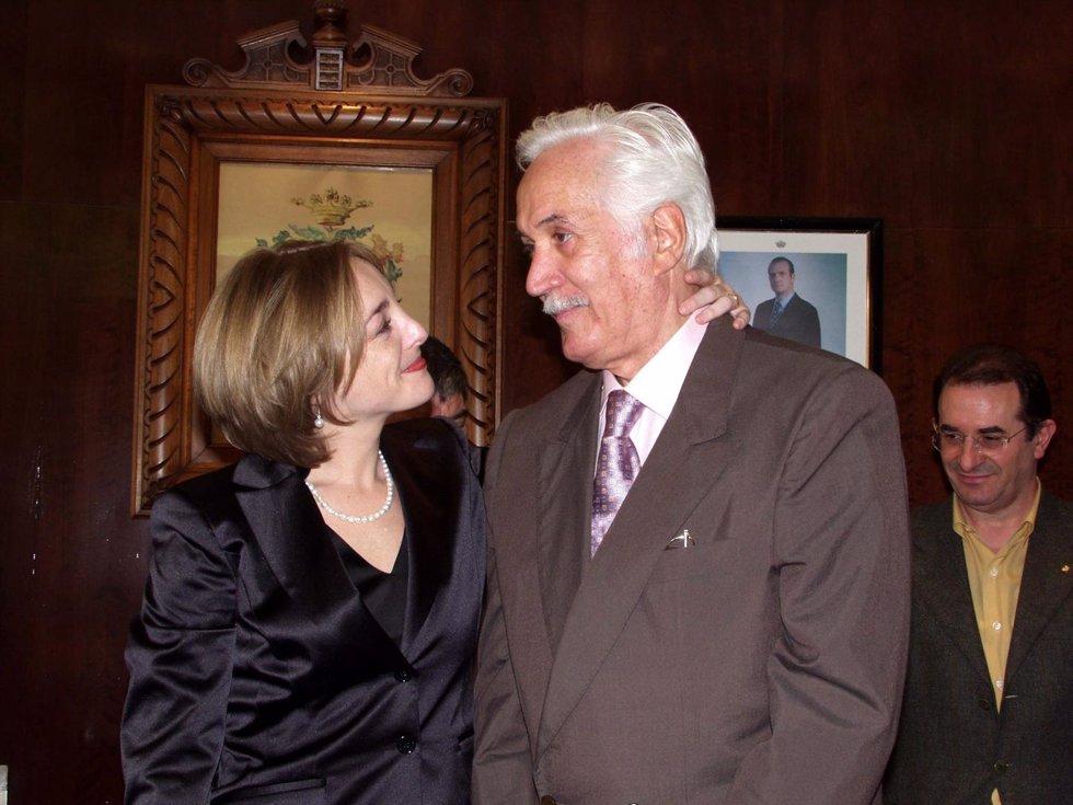 Federico Luppi y su mujer Susana Fernández