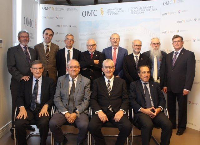 Toma de posesión de la nueva Comisión Central Deontológica de la OMC