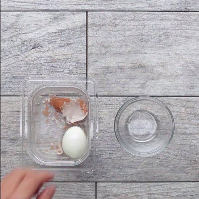 Huevo pelado