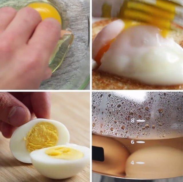 5 Trucos Para Cocinar Huevos