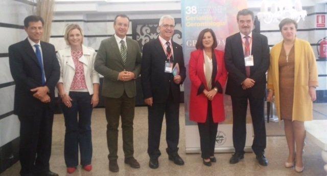 Apertura del Congreso de la Sociedad de Geriatría y Gerontología de Andalucía