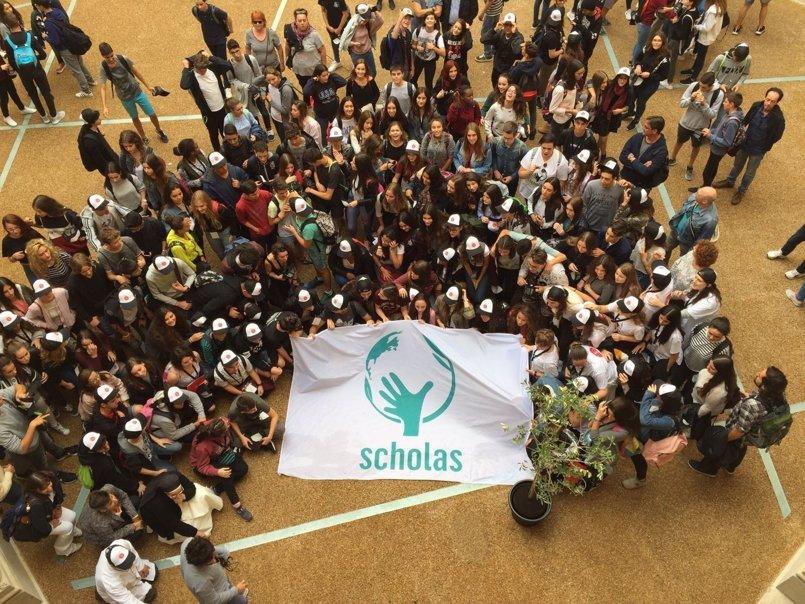 Los participantes en Scholas Ciudadanía en Tarragona proponen la figura del alumno mediador contra el bullying
