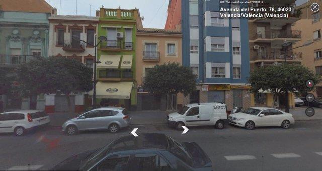 Avenida del Puerto de València
