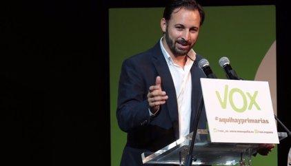 Vox recauda en siete horas los 20.000 euros de fianza para personarse en las causa contra Forcadell