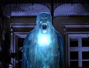 Adorno fantasma 3D de Halloween