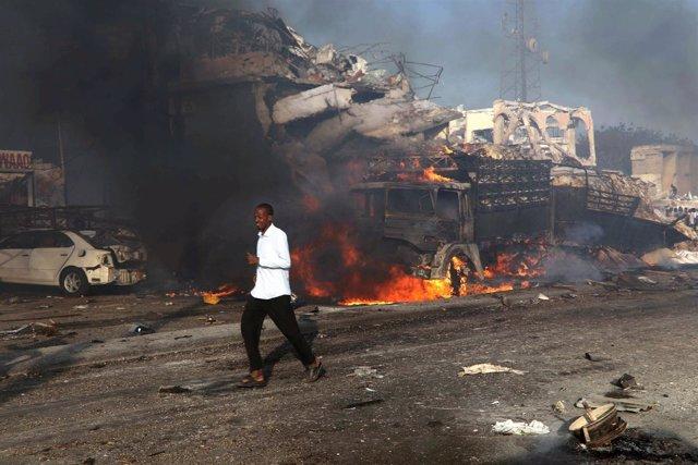 Atentado Mogadiscio (Somalia) octubre de 2017