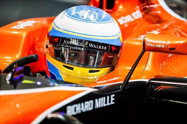 Fernando Alonso Singapur