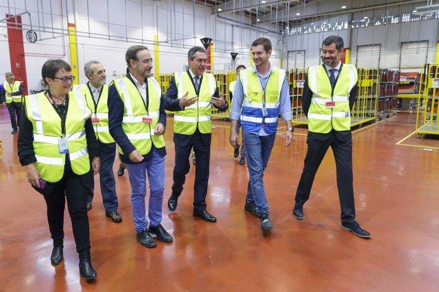 19/10/2017 El Alcalde De Sevilla, Juan Espadas Visita Las Nuevas Instalaciones D