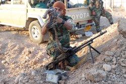 Els peshmerga informen d'almenys 150 paramilitars xiïtes morts o ferits durant la batalla a Kirkuk (REUTERS / AKO RASHEED)