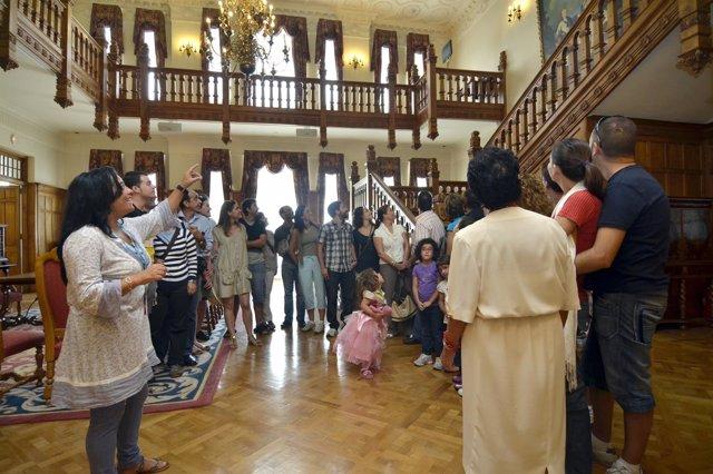 Visitas al Palacio de la Magdalena