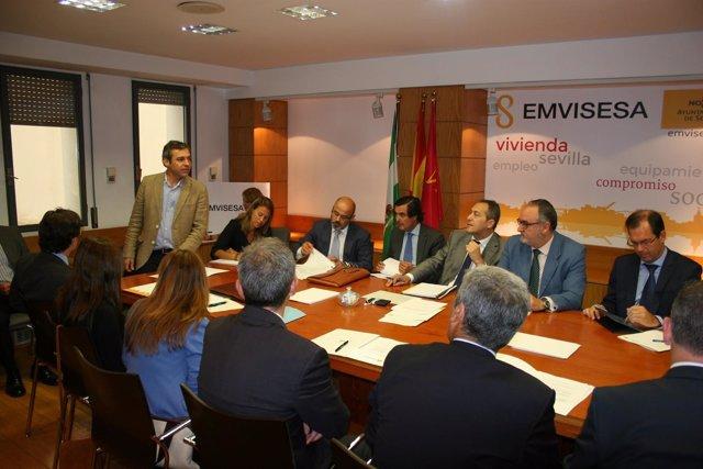 Nota De Prensa Emvisesa Mesa Sectorial Y Comisión